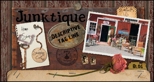Antique Shop Website Template