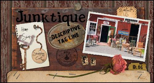 Antique Shop Website Template