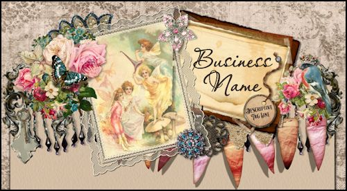 Vintage Fairy Grunge Web Design Template - ON HOLD