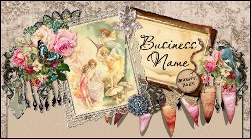 Vintage Fairy Grunge Web Design Template - ON HOLD