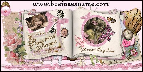 Girly Scrapbook - A Julianne Design