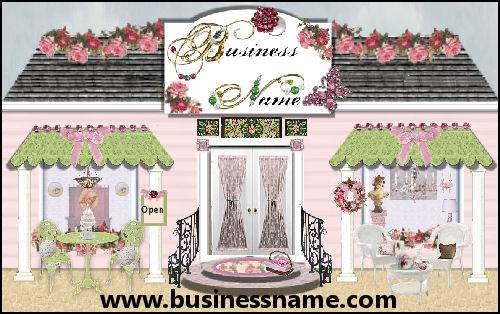 Preppy Storefront - A Julianne Design