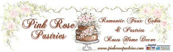 Pink Rose Pastries