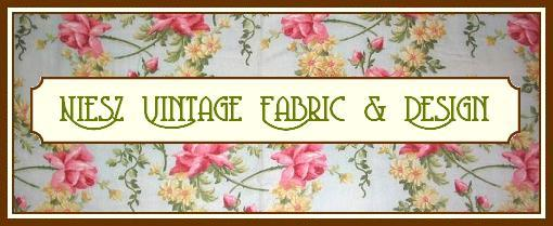 Niesz Vintage Fabric and Design